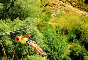 Zip Line and Flying Fox at Rishikesh