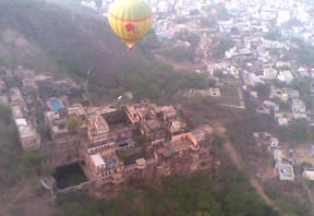 Hot Air Ballooning at Neemrana