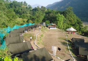 Rafting and Camping at Shivpuri Valley Camp, Rishikesh