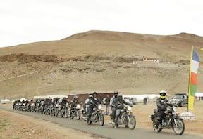 Manali to Srinagar Motorbike Trip