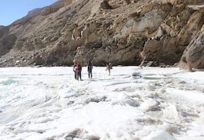 Chadar trek in Leh