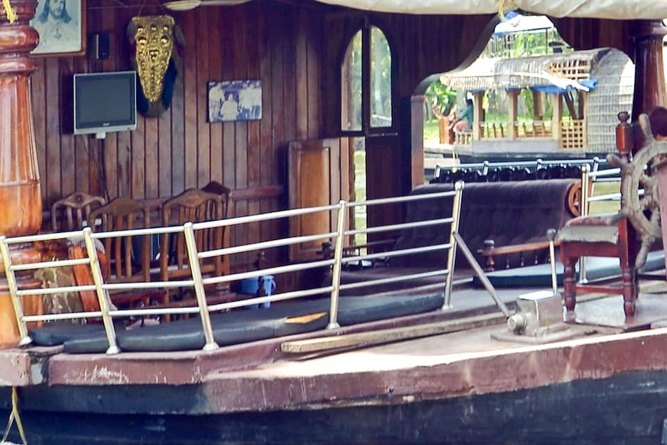 Tharangini House Boats, Finishing point, Tharangini House Boats