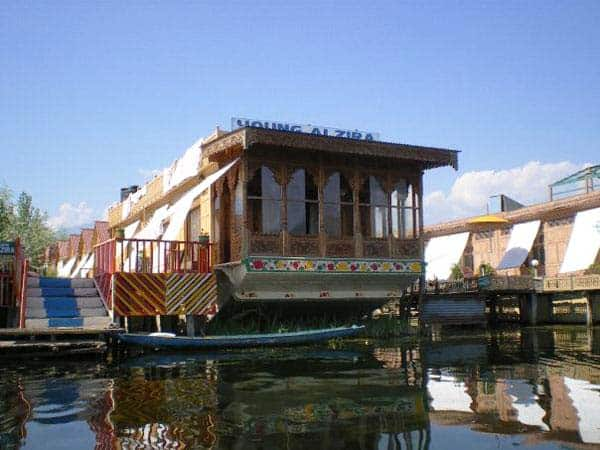 Young Alzira Group of Houseboats, Dal Lake, Young Alzira Group of Houseboats