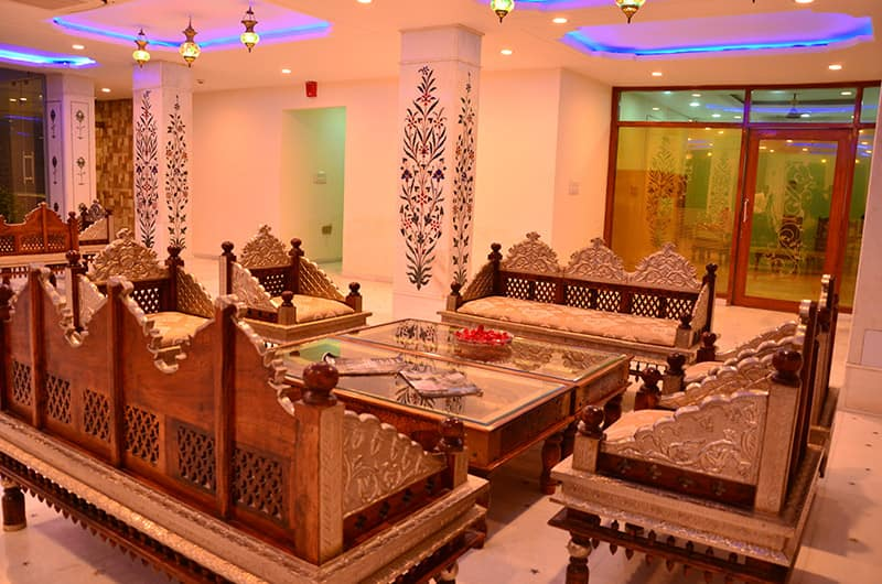 The Heritage Palace, Amer Road, Crimson Park - The Heritage Jalmahal