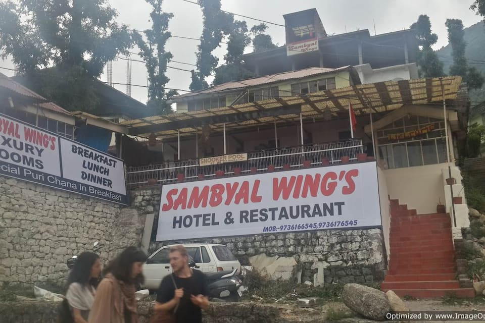 Hotel Sambyal Wings & Restaurant, Bhagsunag, Hotel Sambyal Wings  Restaurant