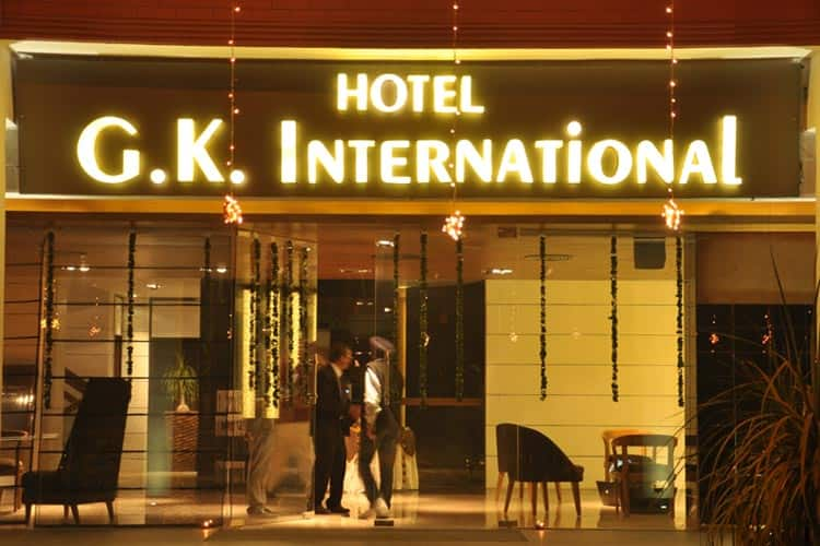 Hotel G K International, Sector 35, Hotel G K International