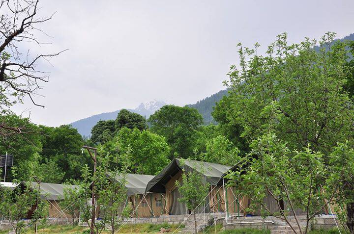 Nature's Outpost Camps, Naggar Road, Nature's Outpost Camps