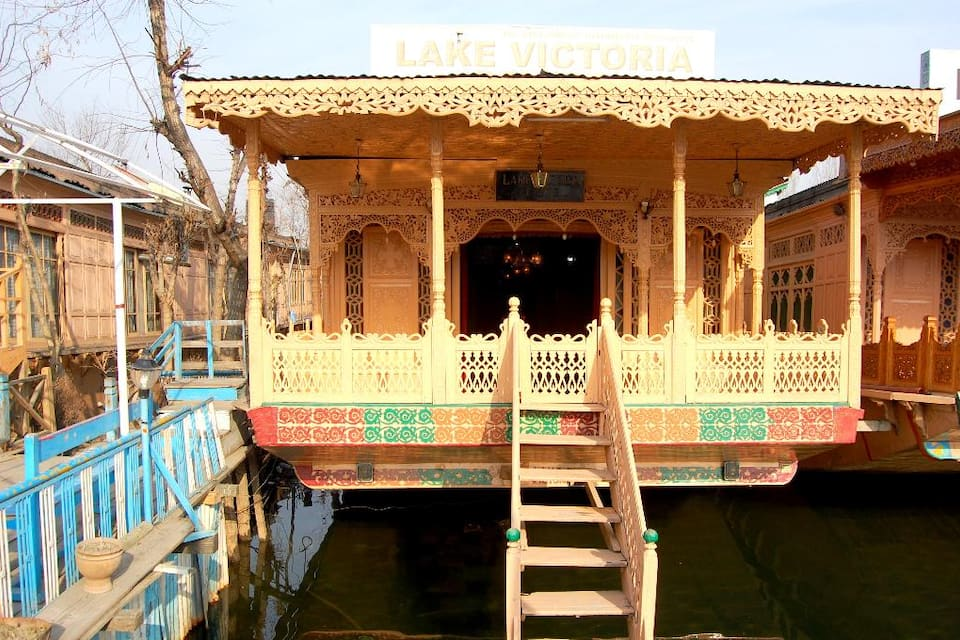 Lake Victoria Houseboat, Dal Lake, Lake Victoria House Boat