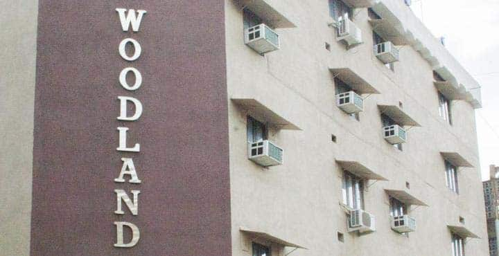 Hotel Woodlands, Central Avenue, Hotel Woodlands
