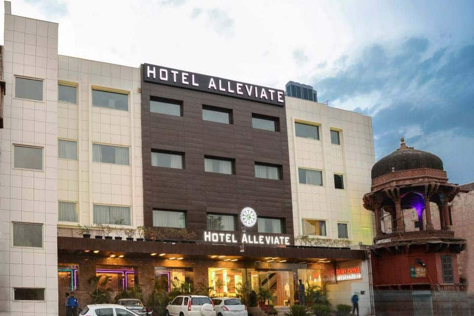 Hotel Alleviate, Walking Distance from Taj Maha, Hotel Alleviate