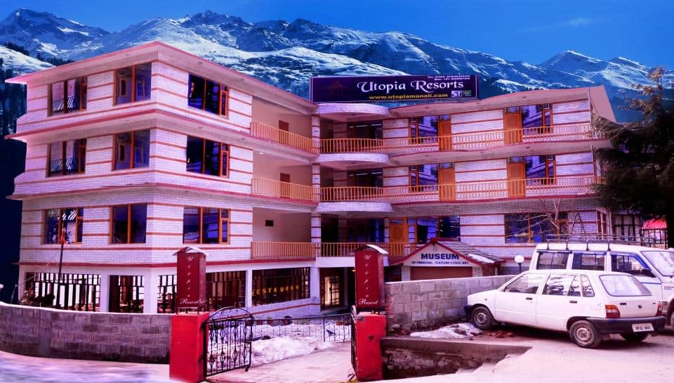 Utopia Resort Manali, Hadimba Road, Utopia Resort Manali
