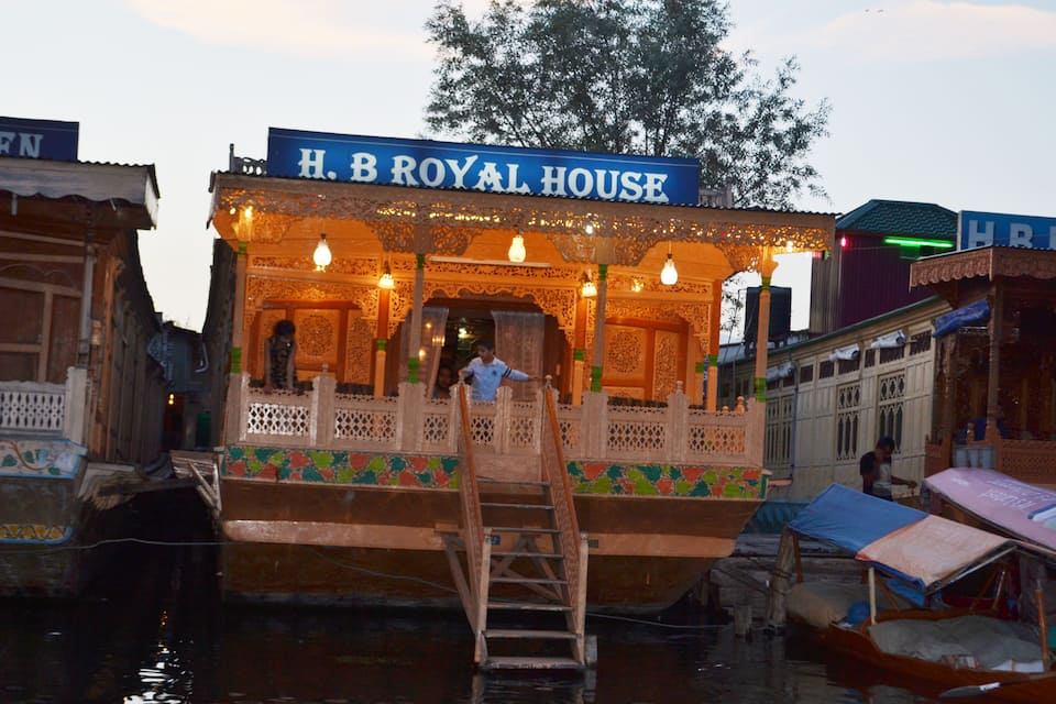Royal House Houseboat, Dal Lake, Royal House Houseboat