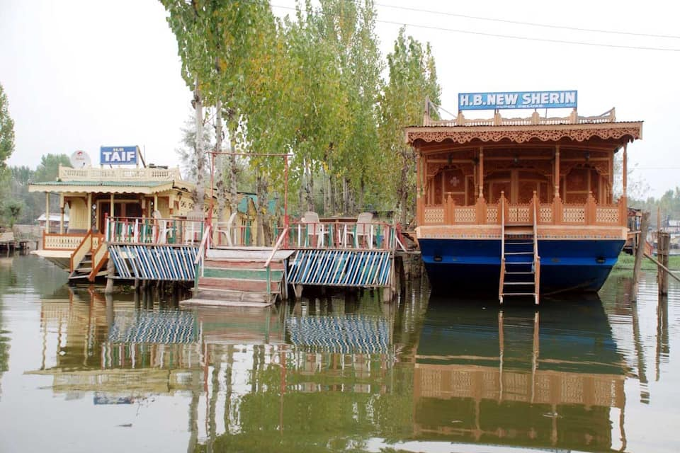 New Sherin houseboat