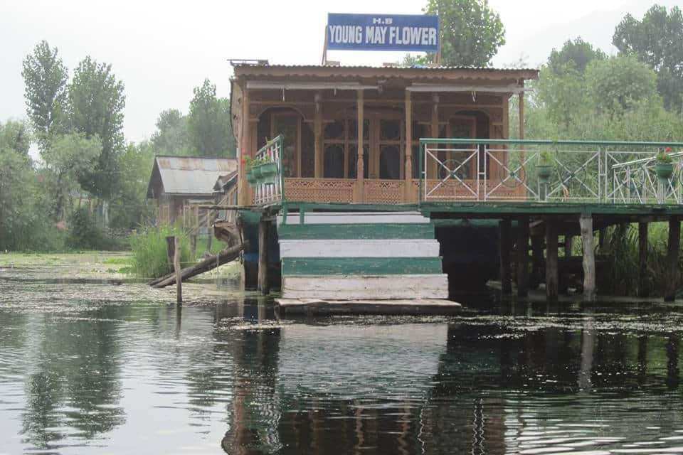 Young May Flower Houseboat, Dal Lake, Young May Flower Houseboat