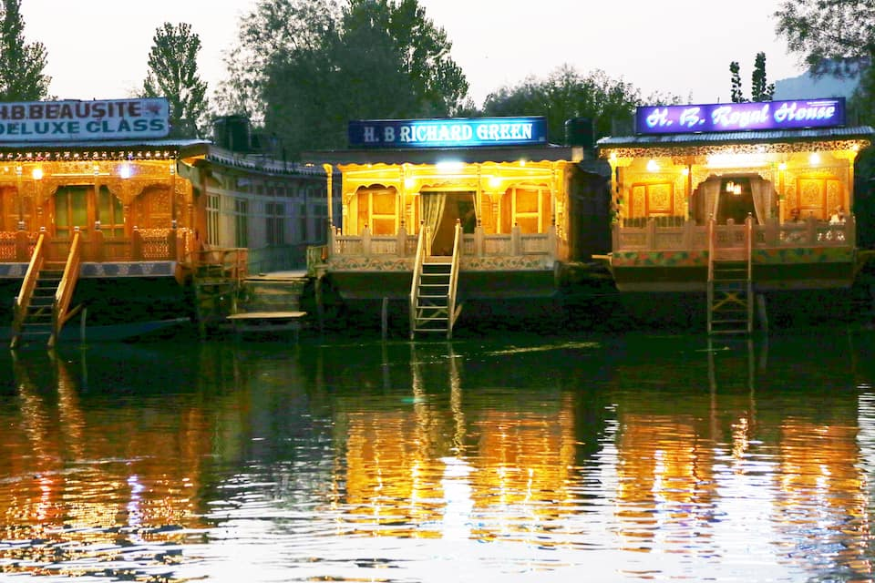 Richard Green Houseboat, Dal Lake, Richard Green Houseboat