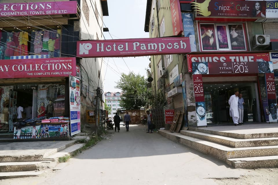 Hotel Pamposh, Residency Road, Hotel Pamposh