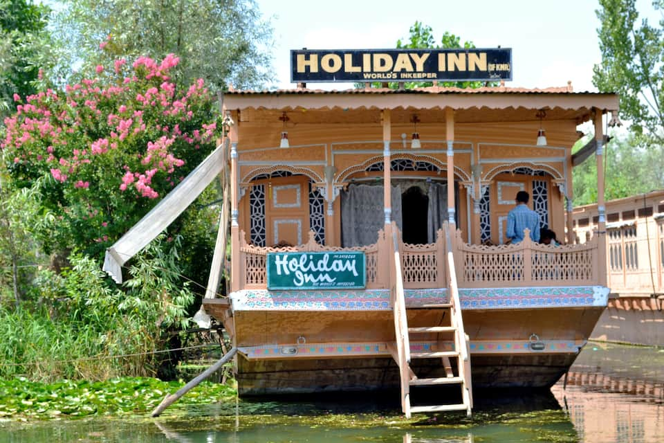 Holiday Inn Houseboat, Dal Lake, Holiday Inn Houseboat