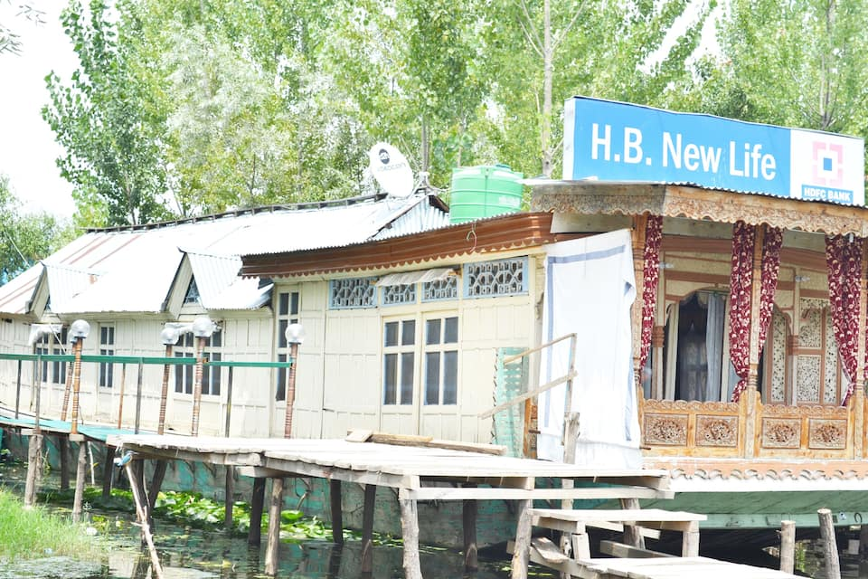 New Life Houseboat, Dal Lake, New Life Houseboat Dal Lake