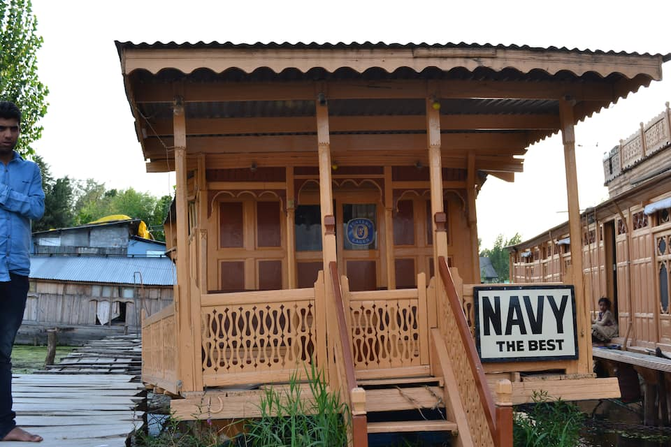 Navy Houseboat, Dal Lake, Navy Houseboat