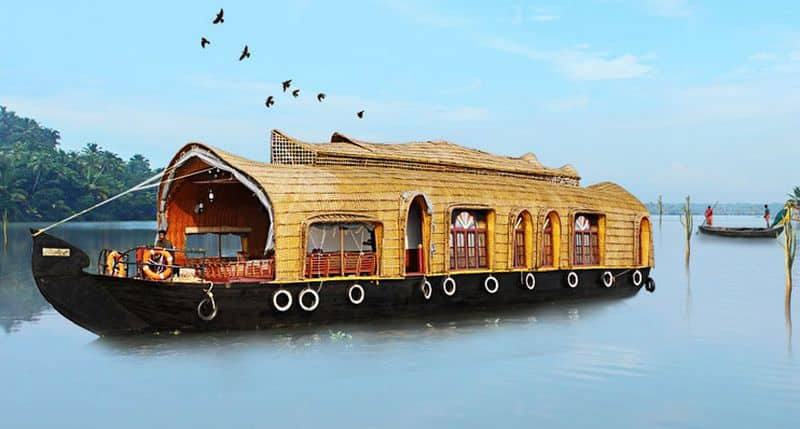Alleppey Houseboats, Punnamada Lake, TG Stays Punnamada Boat Jetty