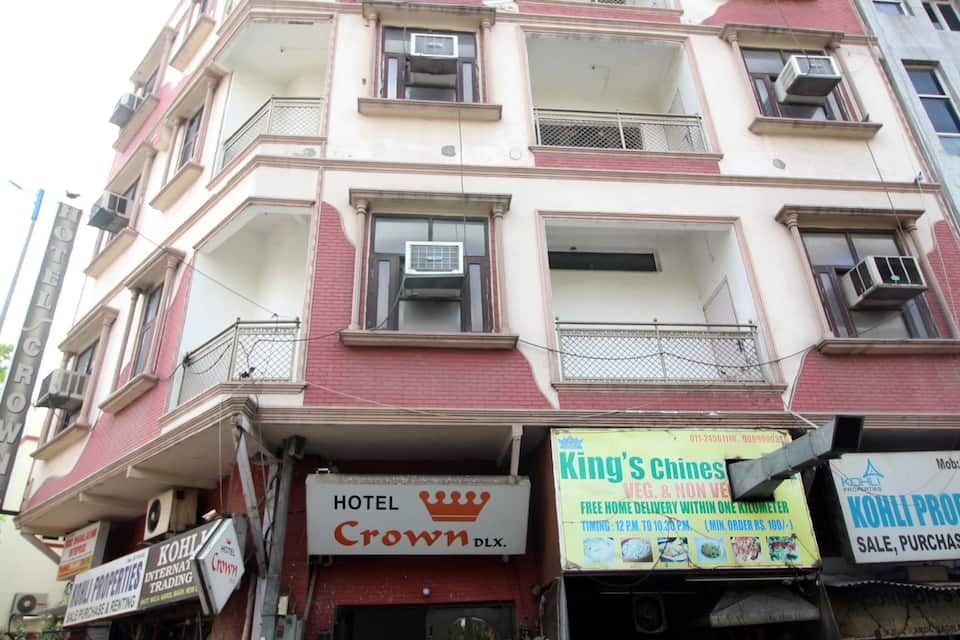 Hotel Crown Deluxe, Karol Bagh, Hotel Crown Deluxe