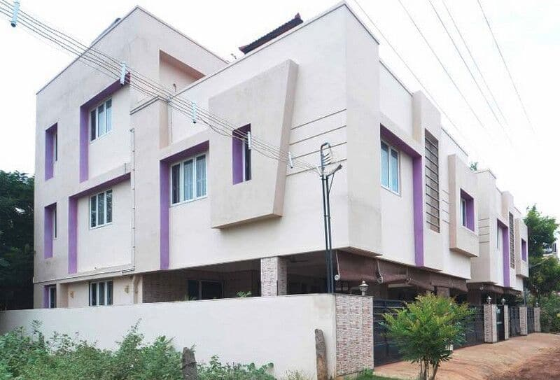 Trustedstay Service Apartments Udayampalayam, none, TG Stays Nava India Road