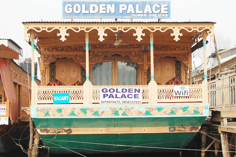 Golden Palace Houseboat