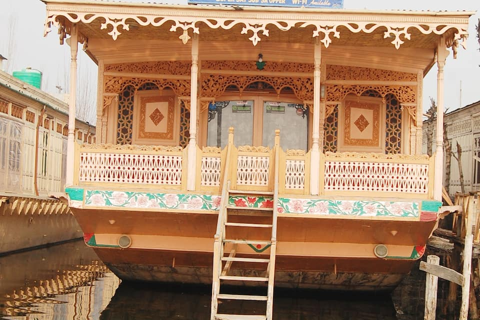 Sheikh Palace Houseboat, Dal Lake, Sheikh Palace Houseboat