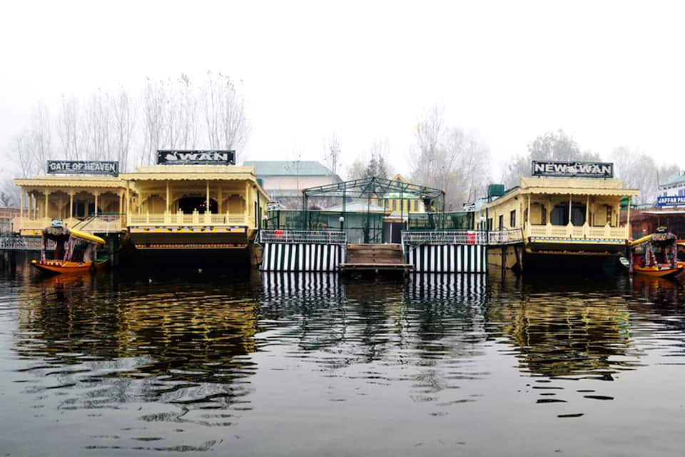 Swan Group of Houseboats, Golden Dal Lake, Swan Group of Houseboats