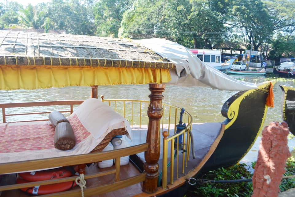 Nandanam Houseboats, Finishing point, Nandanam Houseboats
