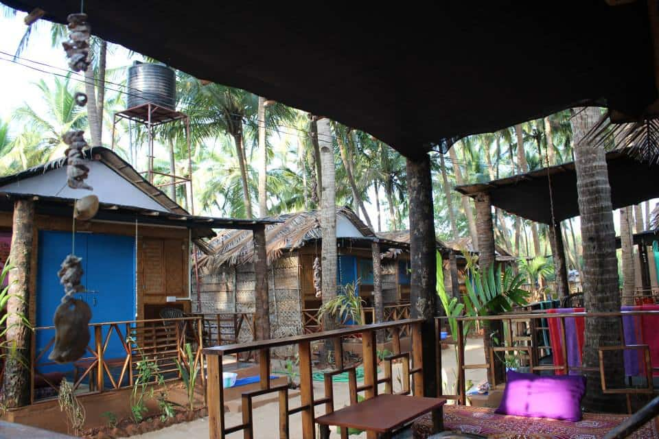 Seastar Resort Deluxe Sea View Hut, Canacona, Seastar Resort Deluxe Sea View Hut