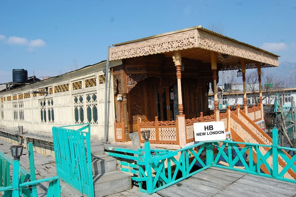 New London Houseboat, Dal Lake, TG Stays Opposite Hotel New Park