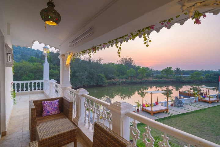 River Palace, Siolim, River Palace