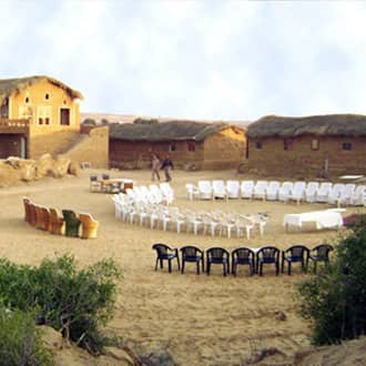 Kuldhara Heritage Resort (10KM from Jaisalmer Fort)