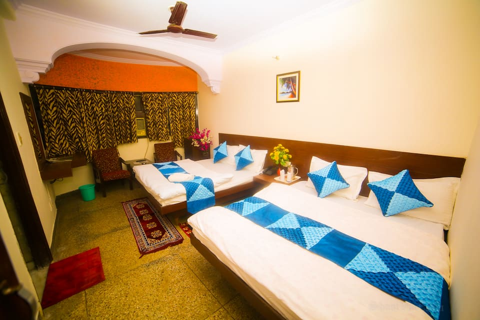 Four Bedded AC Room only with Free Wifi