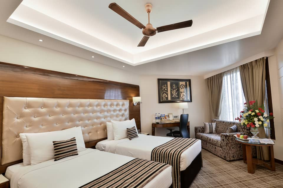 Deluxe Double Twin Bed Room With Breakfast  Dinner