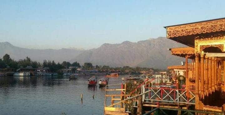 Young Bombay Group of Houseboats, Dal Lake, Young Bombay Group of Houseboats
