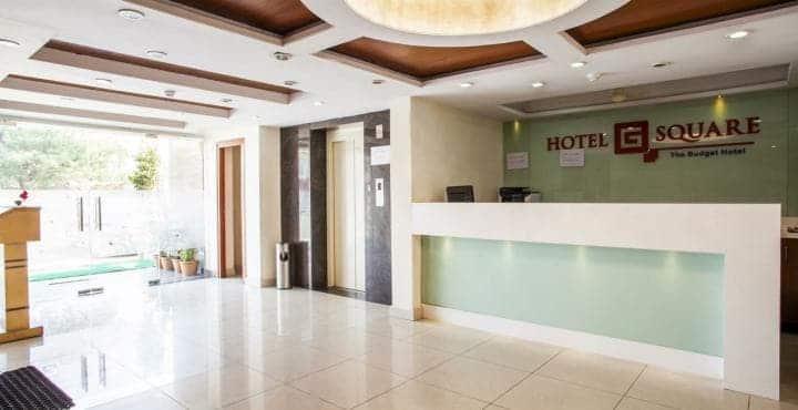 Hotel G Square, Mahanadu Road, Hotel G Square