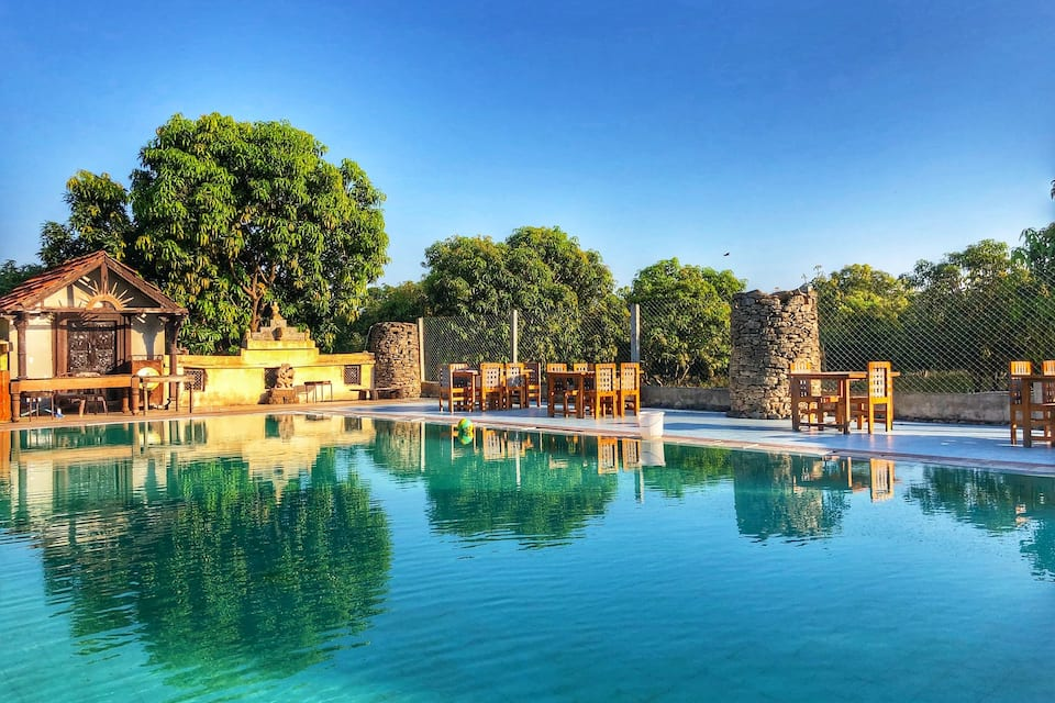 Gir Lion's Paw, none, Gir Lions Paw Resort With Swimming Pool