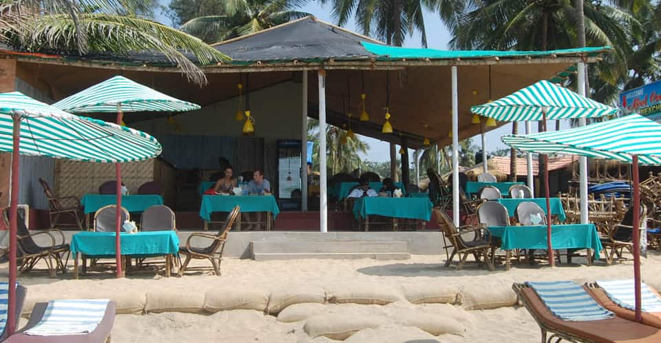 Abel Cressida Beach Cafe, Canacona, Abel Cressida Beach Cafe