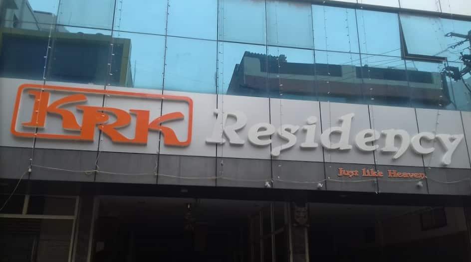 KRK Residency, P K Layout, KRK Residency