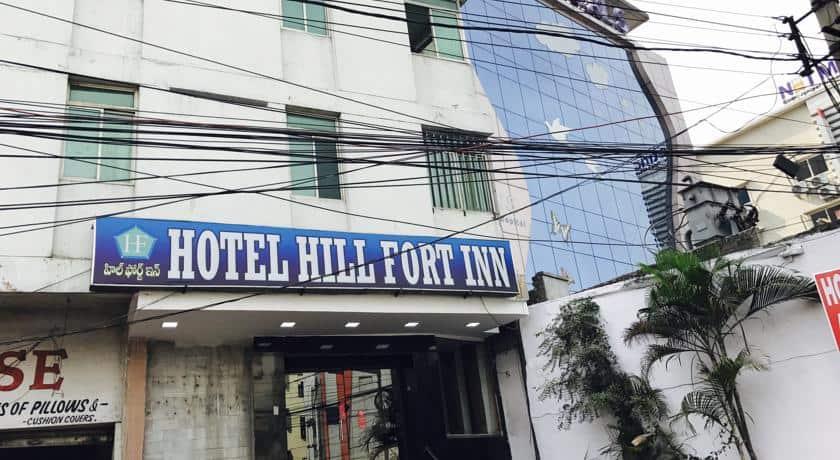 Hotel Hill Fort Inn, Lakdi Ka Pool Khairatabad, Hotel Hill Fort Inn