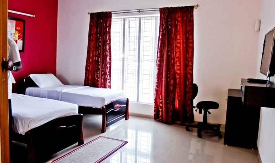 Crimson Vistas Service Apartments, Mahindra World City, Crimson Vistas Service Apartments