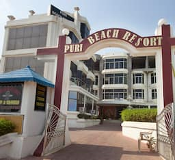 Hotel Puri Beach Resort, Puri