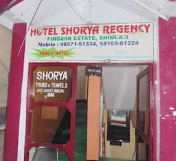 Hotel Shorya Regency, Shimla