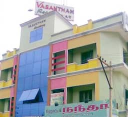 Hotel Vasantham Residency A/c