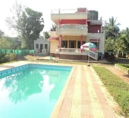 Hotel 3bhk Bungalow In Alibaugh With Swimming Pool