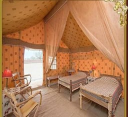 Hotel Resort Camps Located In The Heart Of The Thar Desert