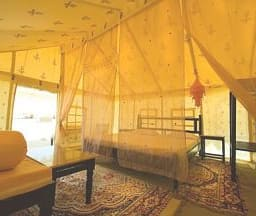 Luxury Swiss Tent Single