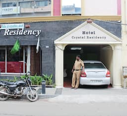 Hotel Crystal Residency (Opp US Consulate)